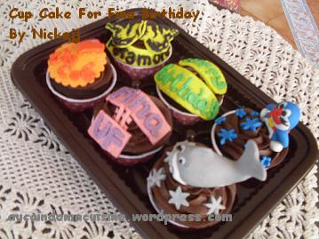 Cake Out Artinya : Cup Cake for Fina Birthday Au coin de ma Cuisine