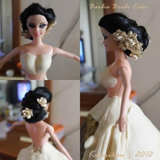 Barbie hair decored