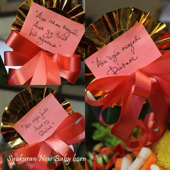 ribbon tumpeng