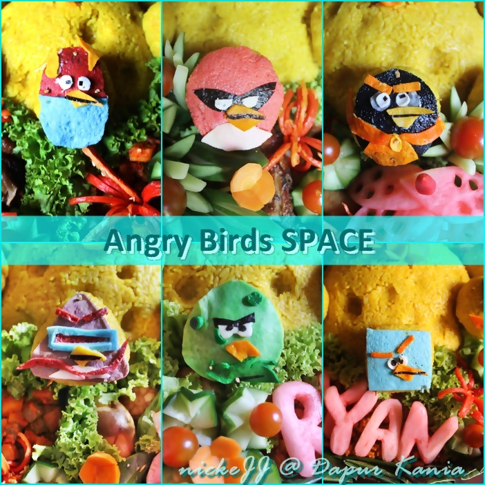 Tumpeng Angry Bird SPACE