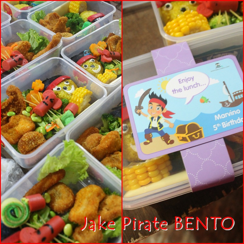 Jake Never land Pirate o'Bento