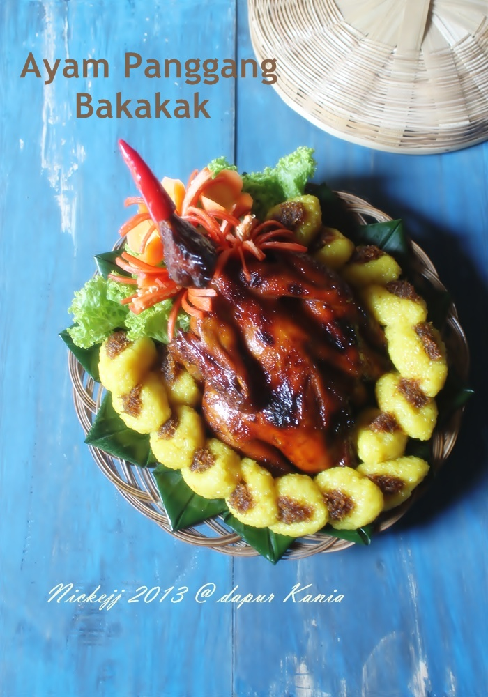 Ayam Panggang Bakakak
