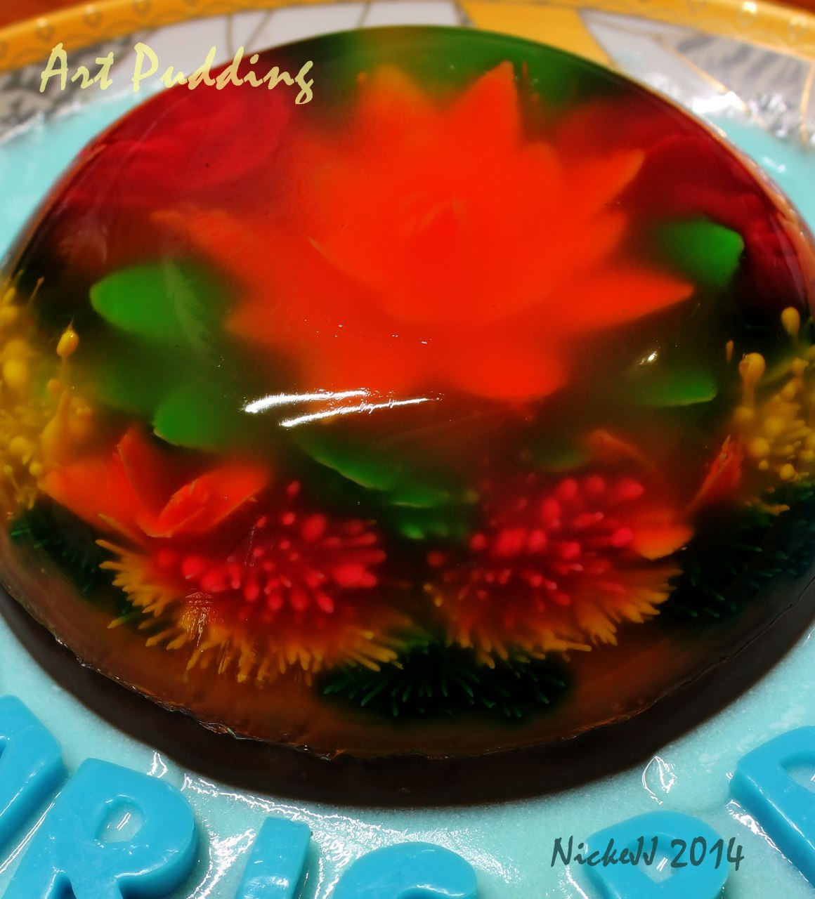 Art Jelly Pudding