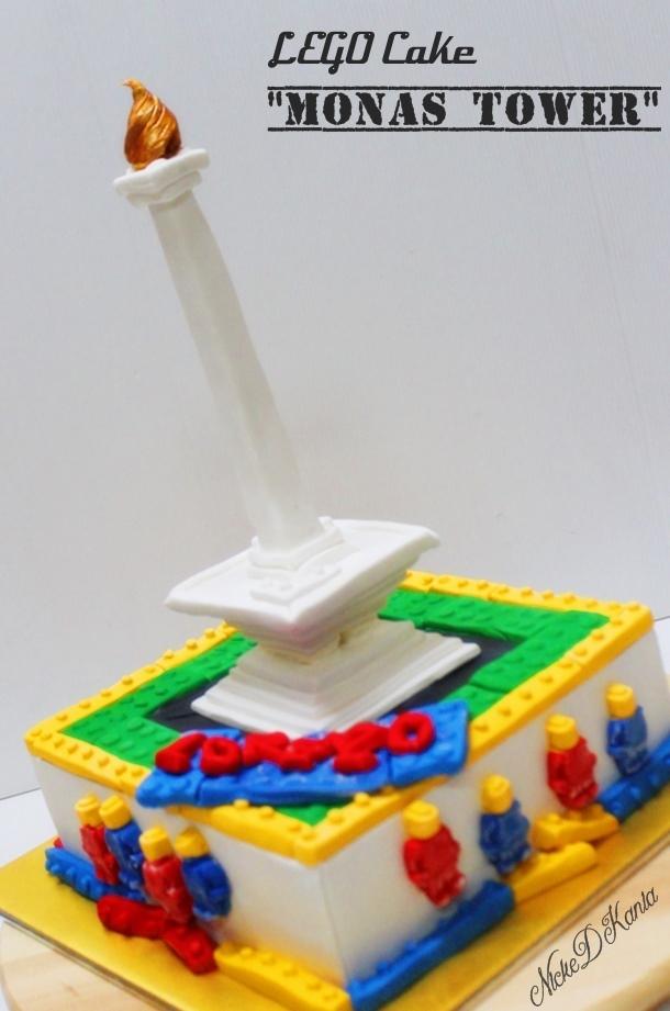 Monas Tower LegoCake