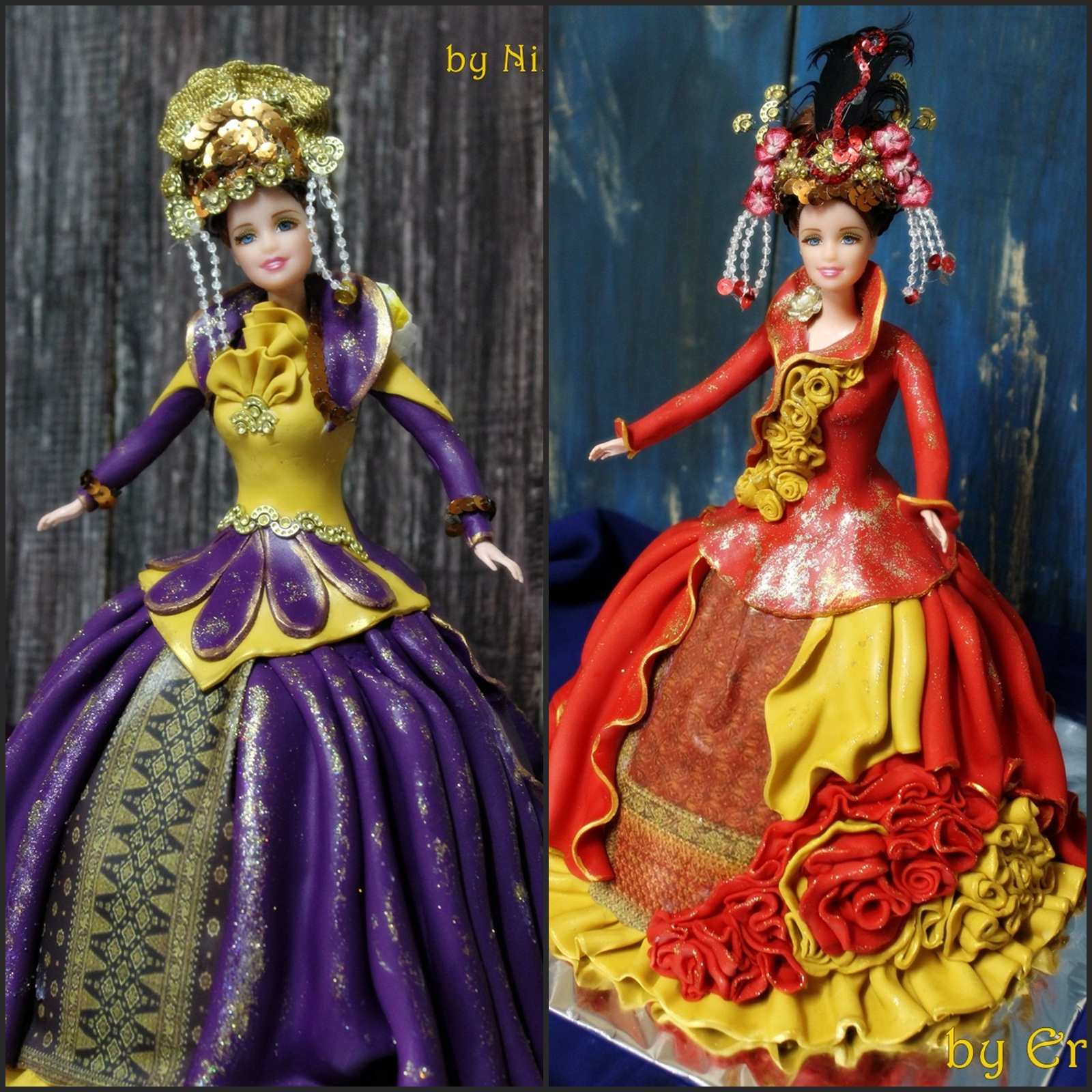 Decorated Doll CakeClass