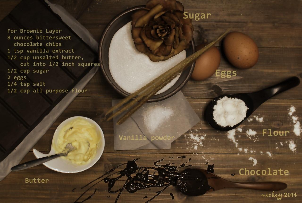 Chocolate Cheesecake Peanut ButterBrownies