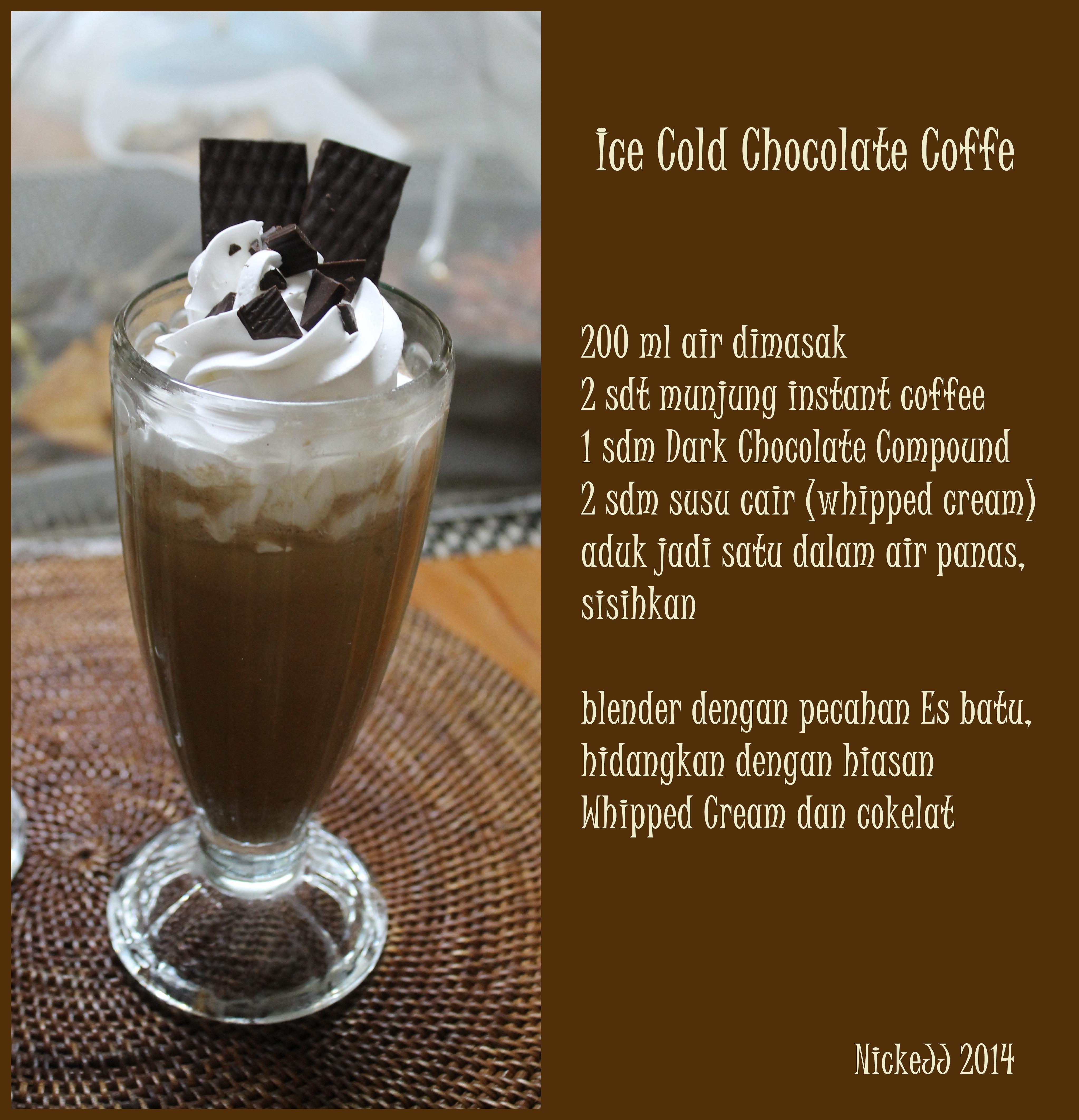 Ice Cold ChocolateCoffee