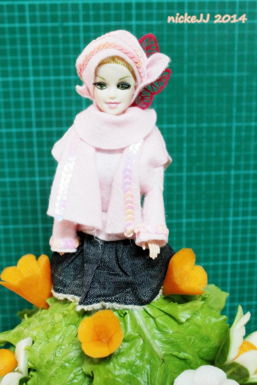 Tumpeng Muslim doll