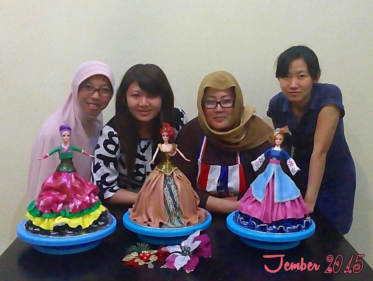 Jember Doll CakeCourse