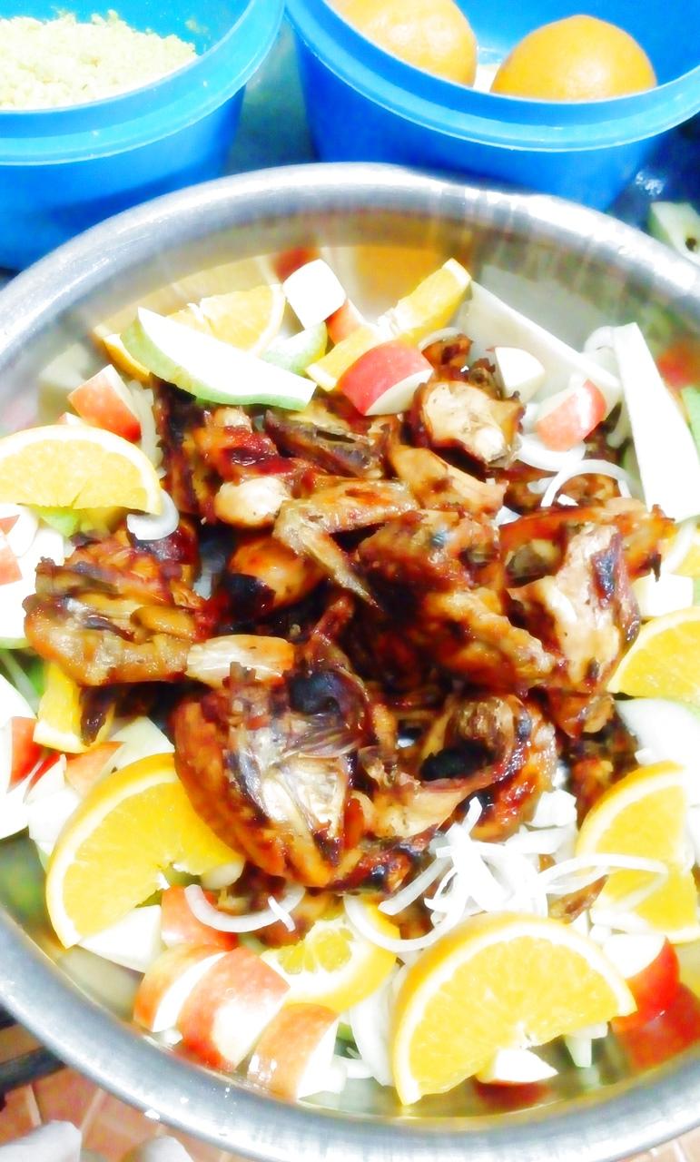 Chicken Roasted on Buffet Dapurkania