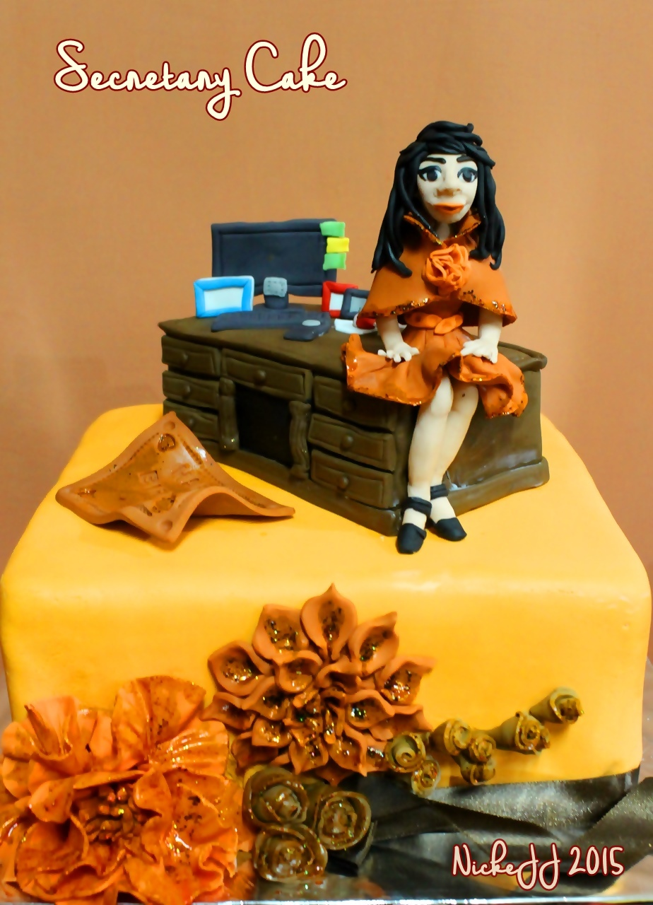 Secretary Cake