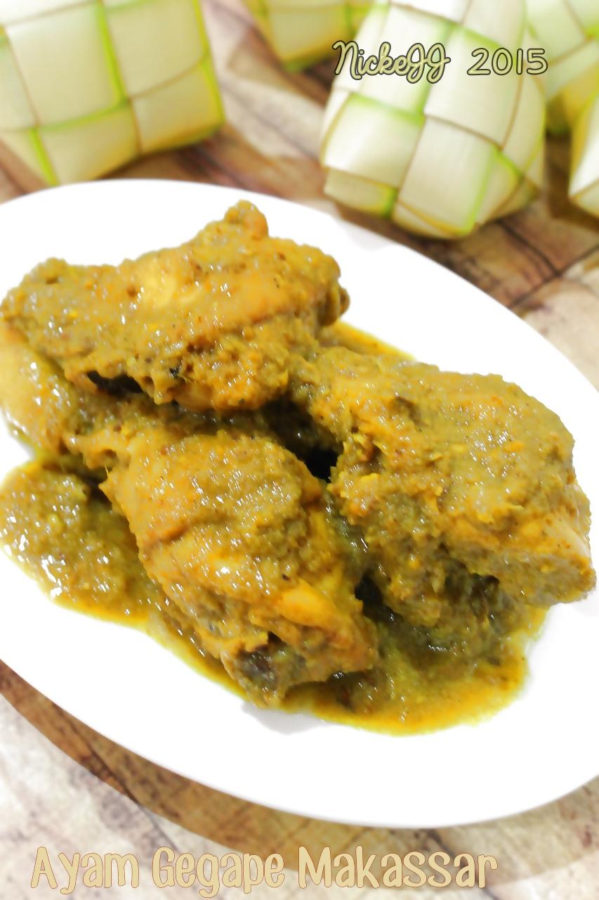 Ayam Gegape Makassar