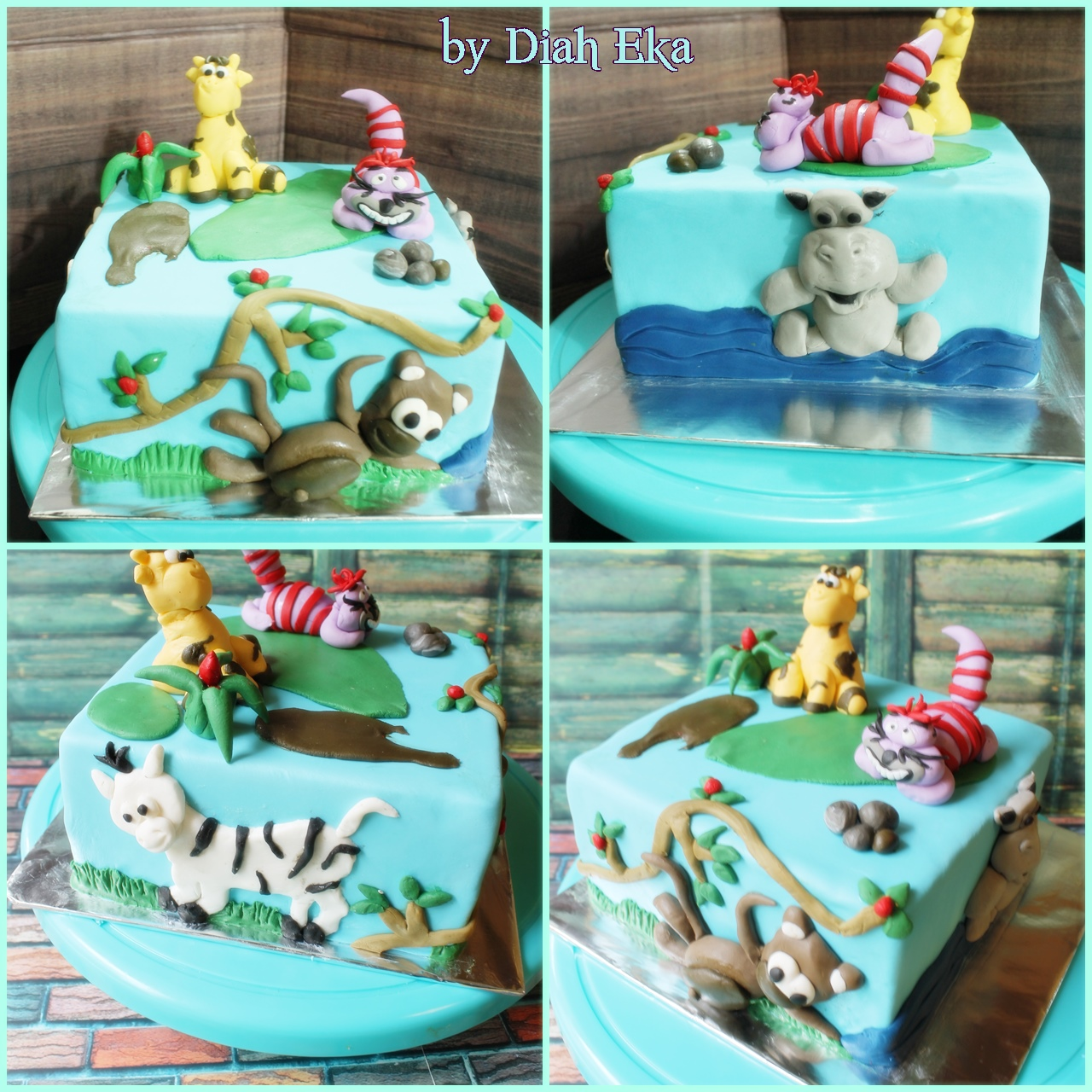 Basic Decor Fondant Cake, course