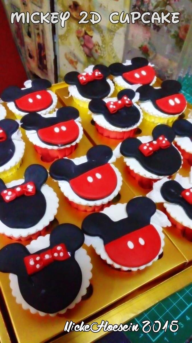 Mickey 2D Cupcake