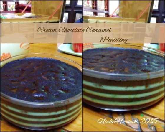 Cream choco pudding