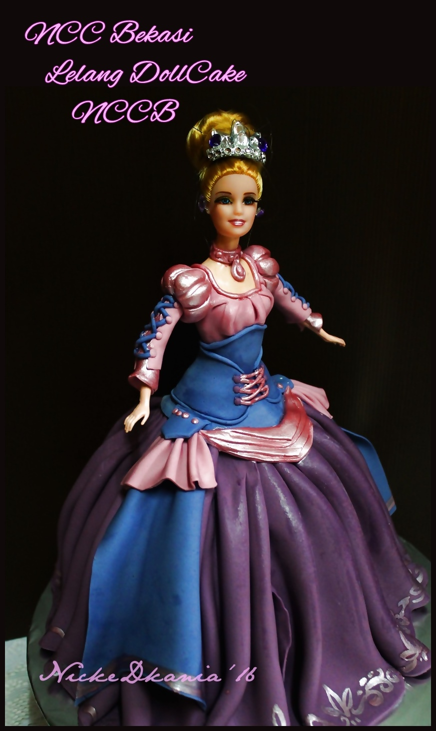 Rapunzel Dollcake for Auction CharityCake