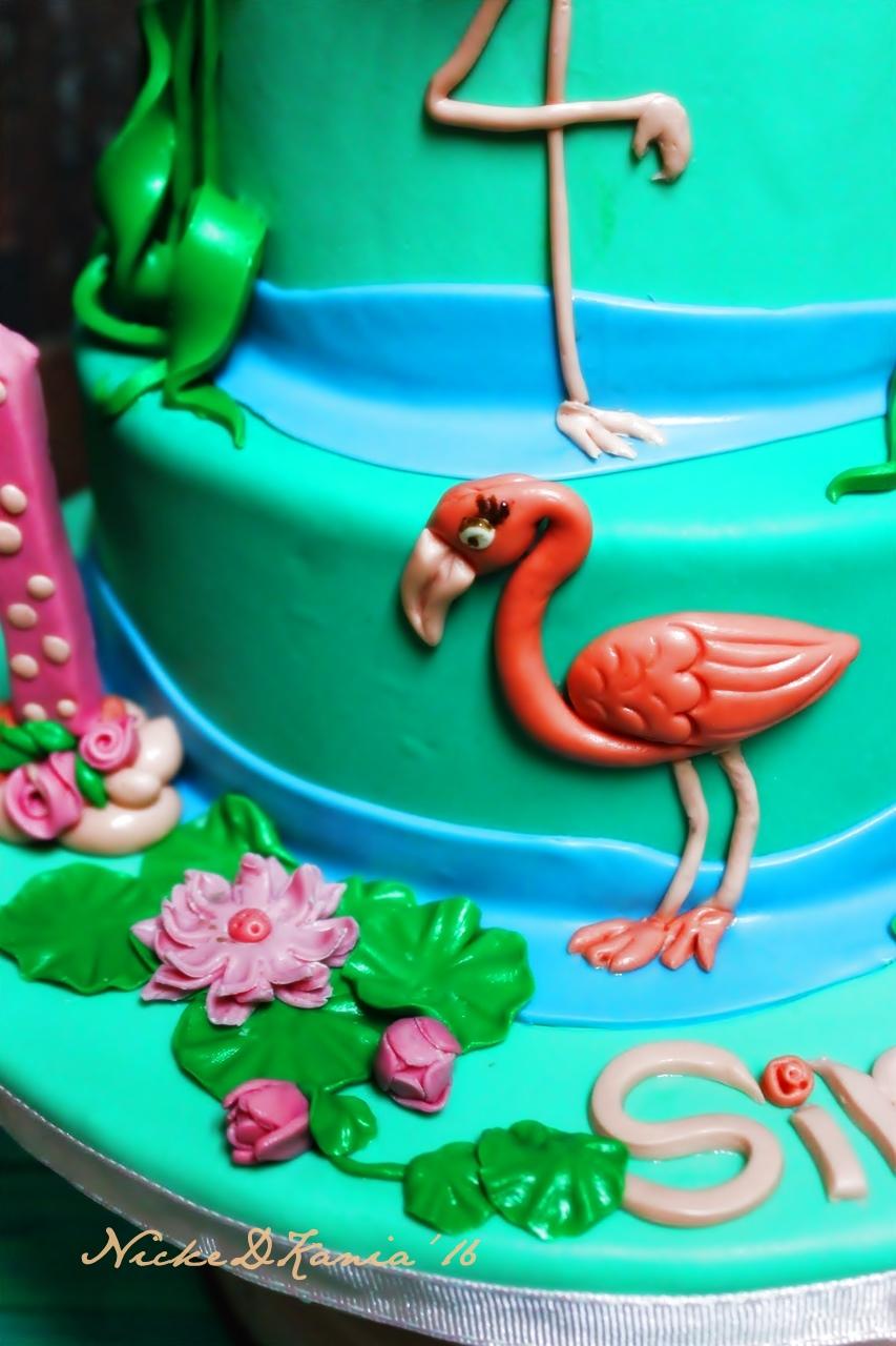 Flaminggo Cake