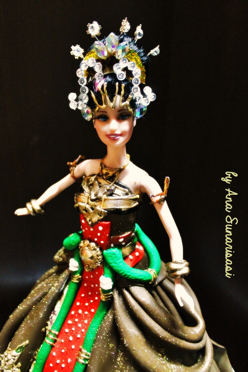 Ethnic Doll Cake Class, susulan