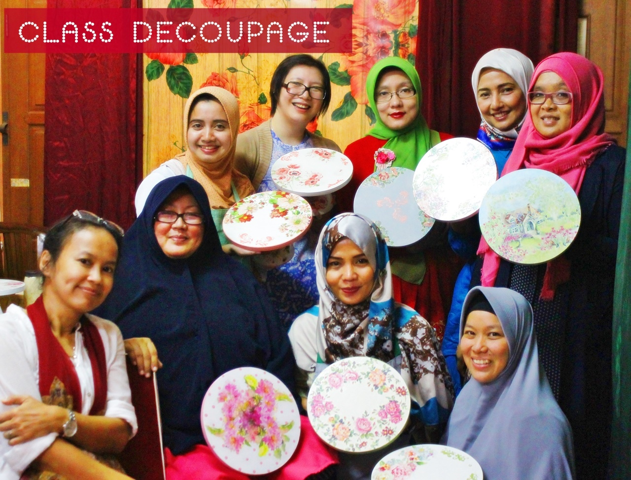 Decoupage for Cooking Preneur