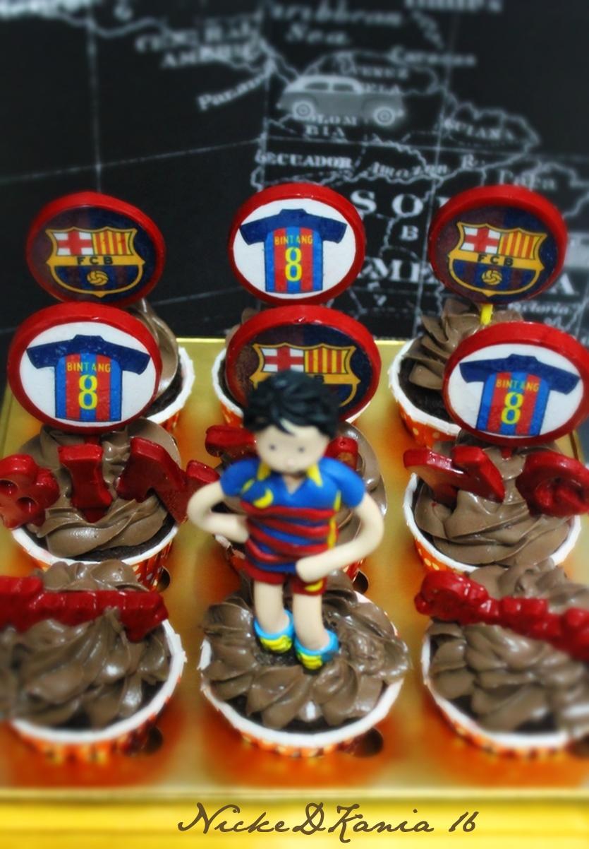 Barca Cupcakes