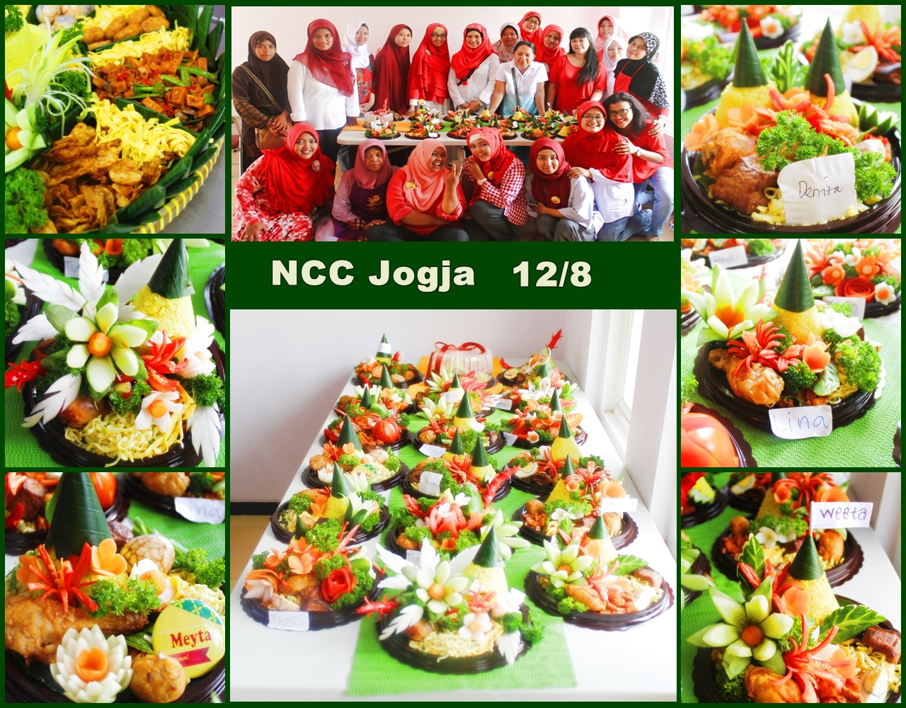 NCC Jogjakarta Latbar Ukir Sayur(12/8)