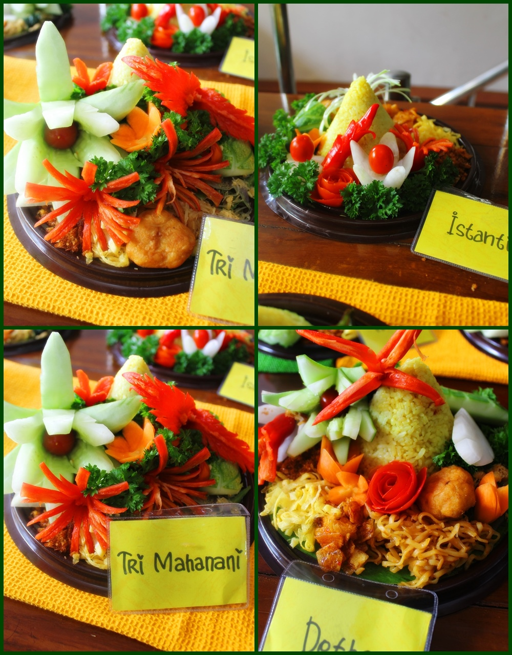 NCC Solo Latbar Vegetables Carving (16/8)