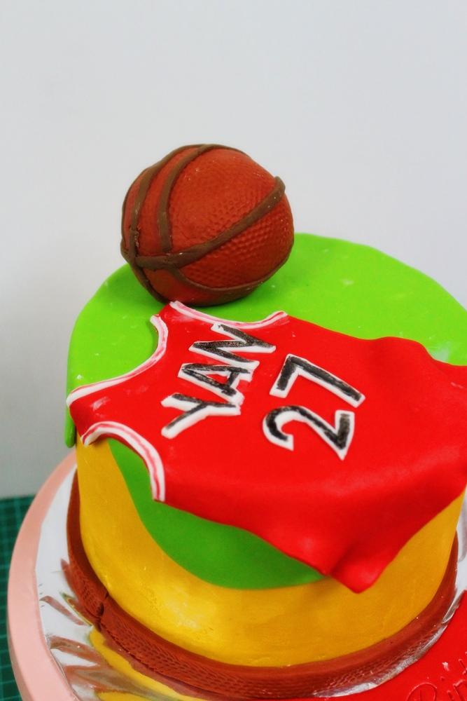 Basket Ball Cake