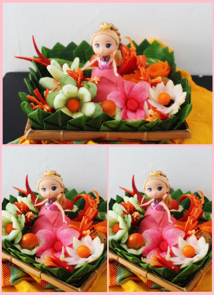 Class Ukir sayur dan Fancy mini tumpeng, Abepura,Jayapura