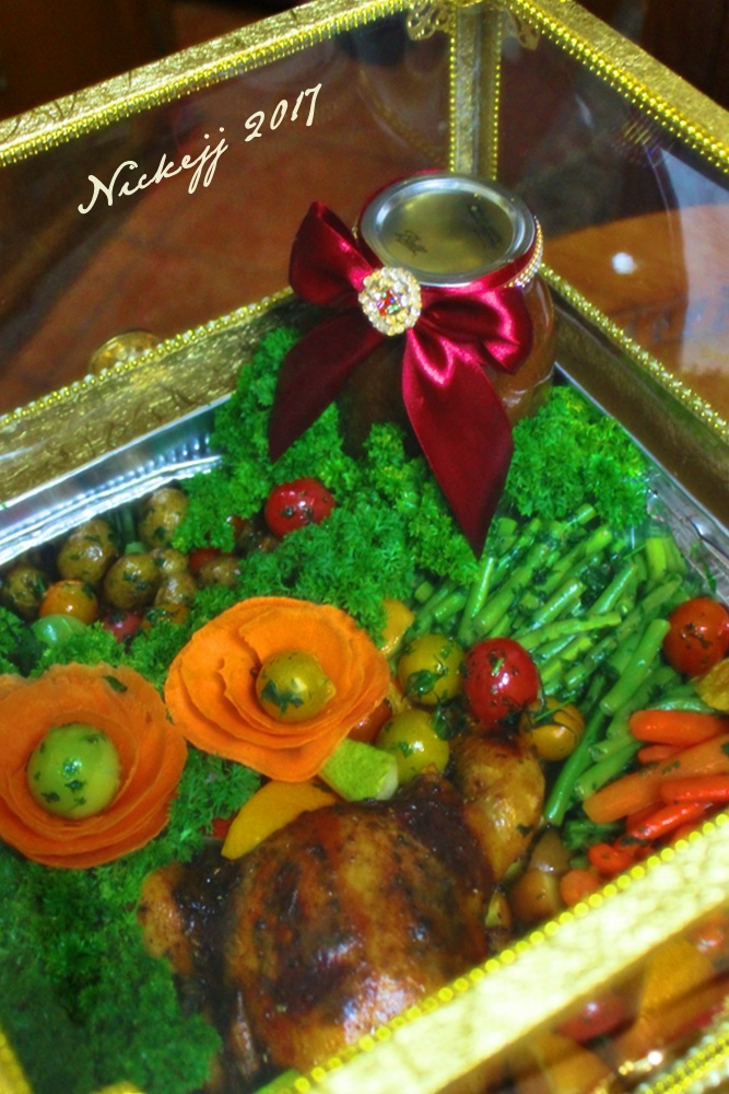 Hantaran istimewa Roasted Chicken