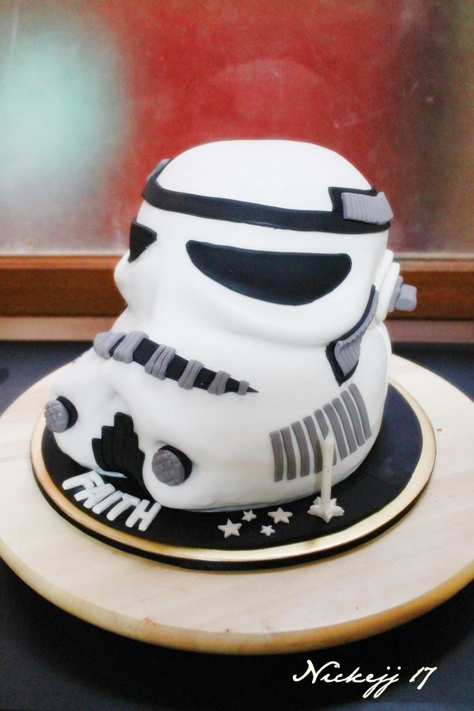 Stroomtrooper Starwars Cake