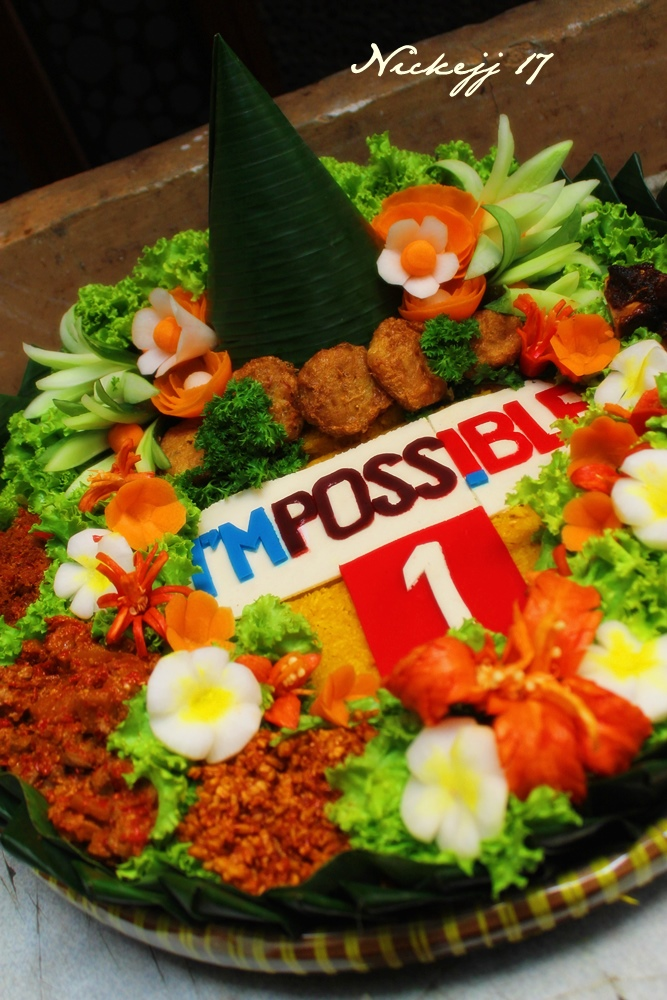 I'MPOSSIBLE Tumpeng for Metro TV