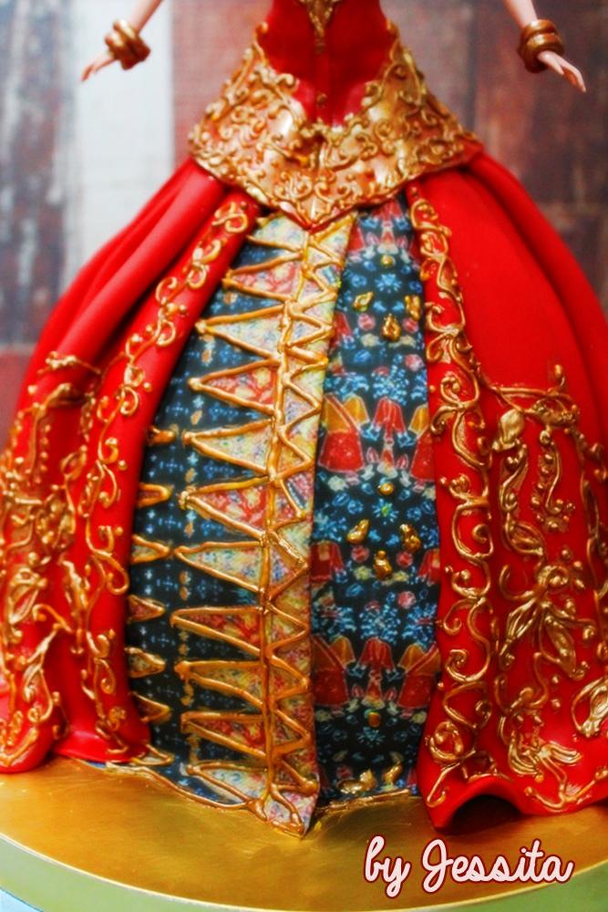 Class Ethnic DollCake Bride ofBetawi
