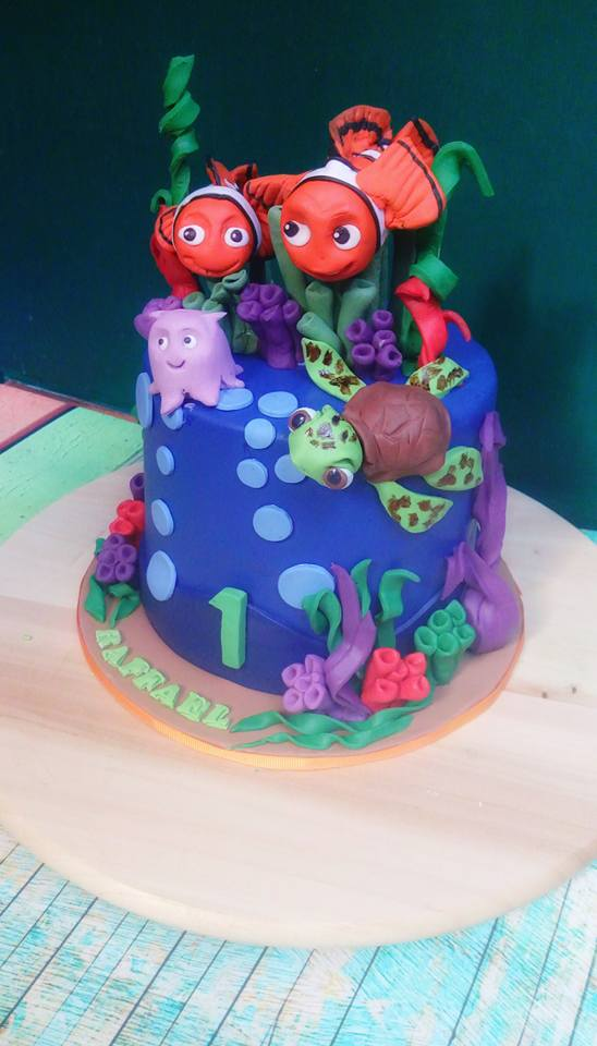 Nemo and friends Cake