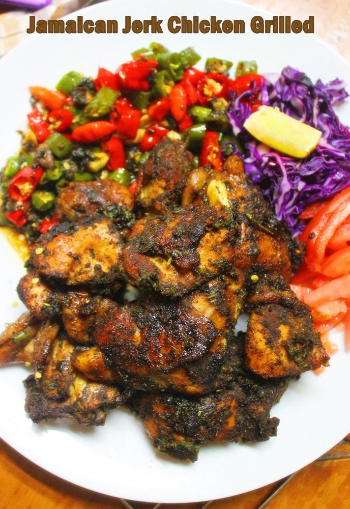 Jamaican Jerk ChickenGrilled