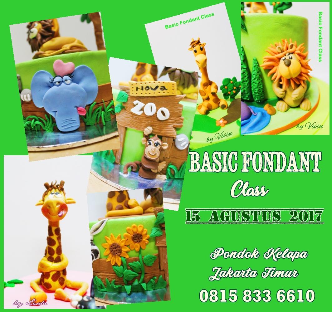 Class Basic Fondant, themeZoo