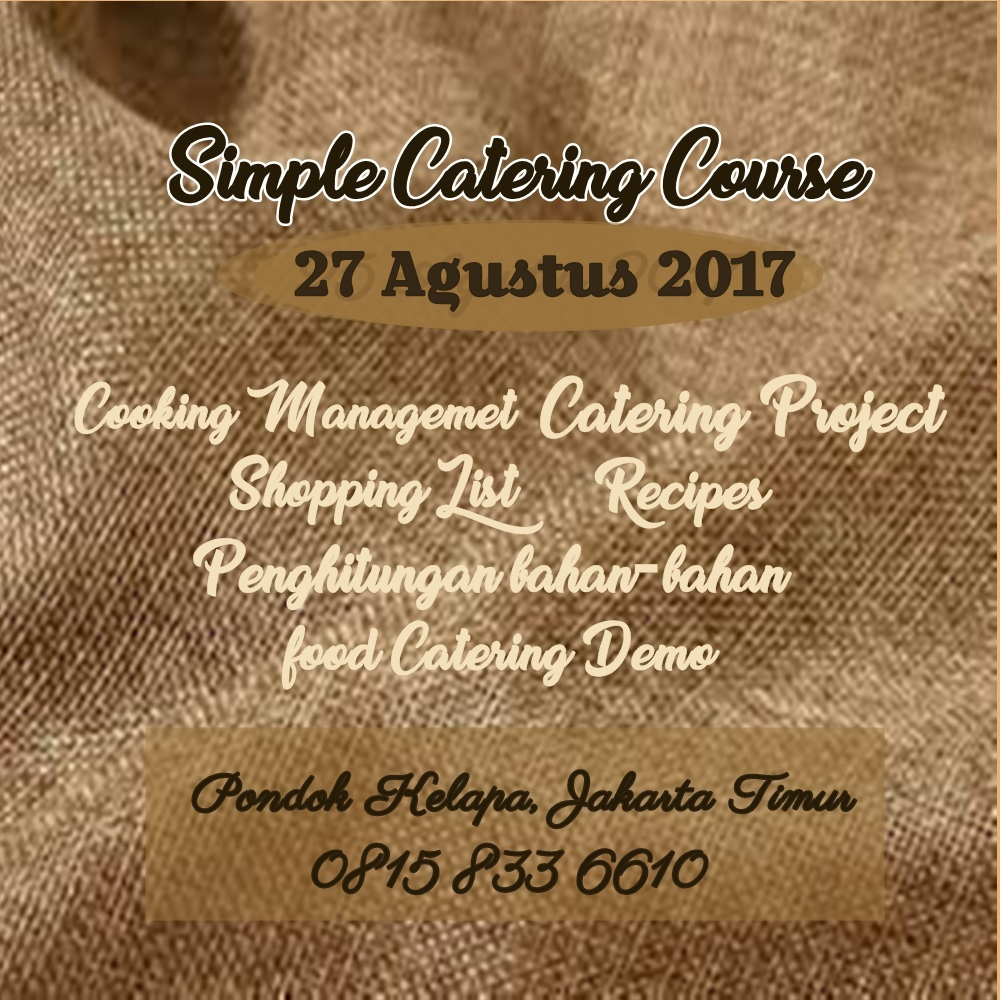 Class Simple Catering