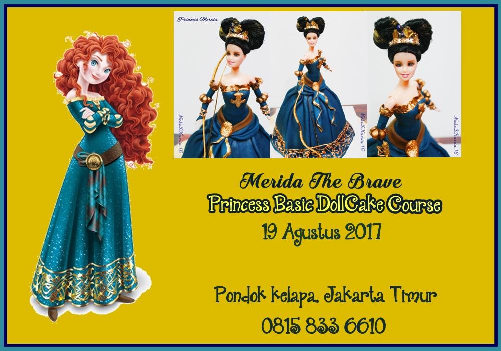 Class Basic DollCake, Princess Meridatheme