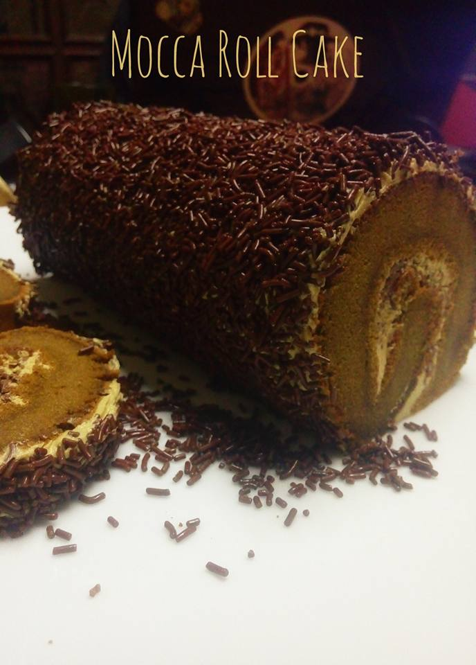 Mocca Roll Cake
