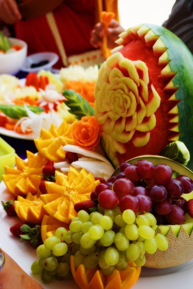 Demo Vegetable and fruits carving, Pangkal PinangBangka