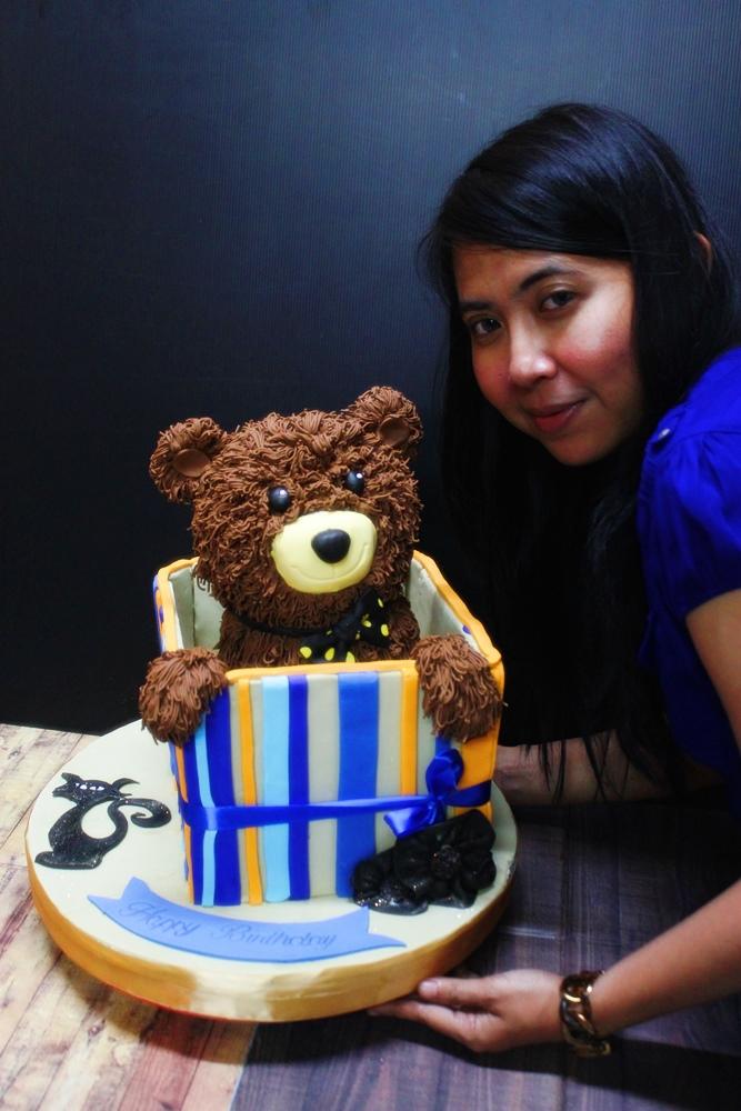 Teddy Bear on ToyBox