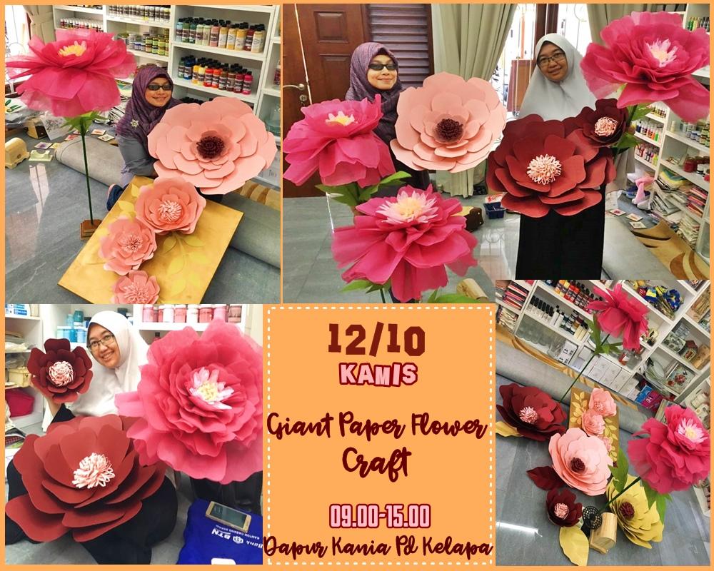 Paper Flower Craftworkshop