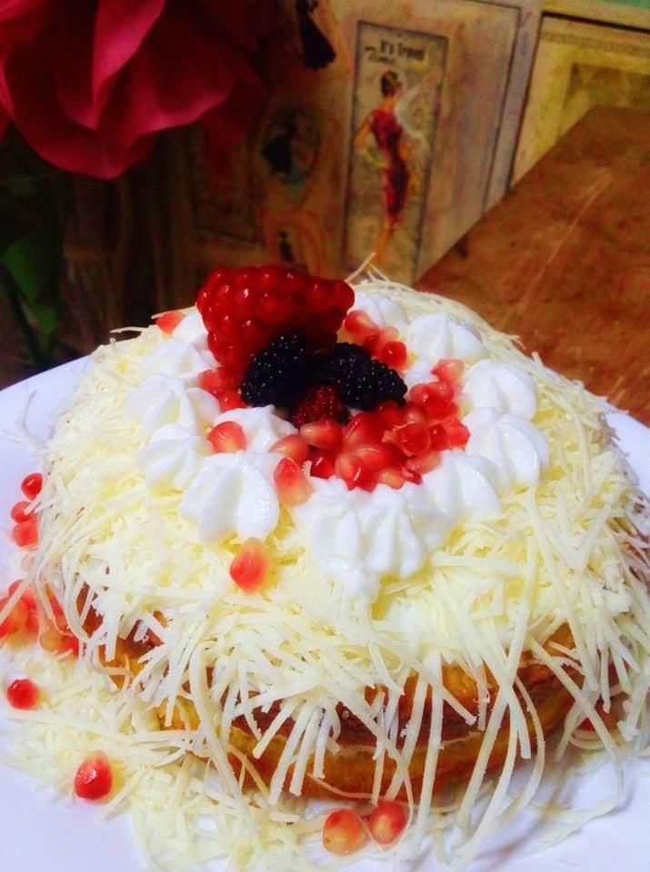Cake Keju Gondrong