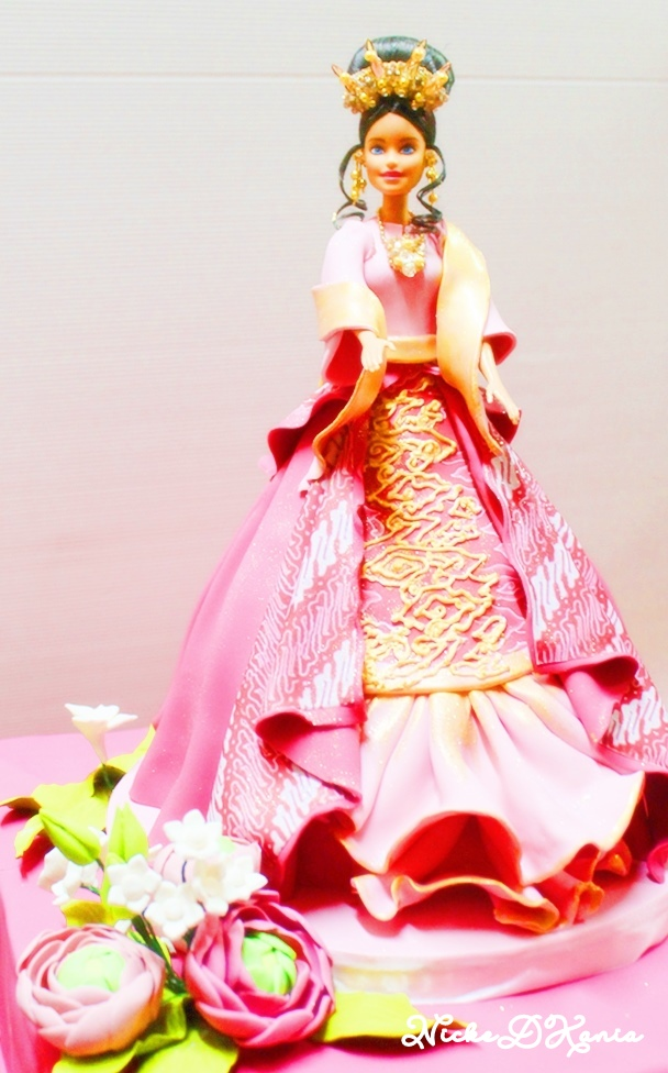 PT. Mattel Indonesia, Ethnic Barbie Doll Cake