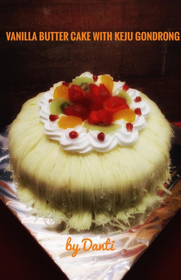 Latbar Keju Gondrong dan kursus CakeDasar