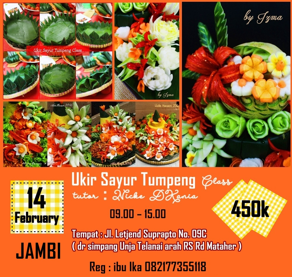 Jambi Cooking and Decorating Class