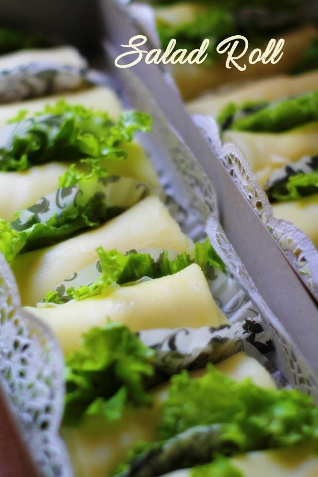Mocca Meisis RollCake, Salad Roll, Lasagna danPastup