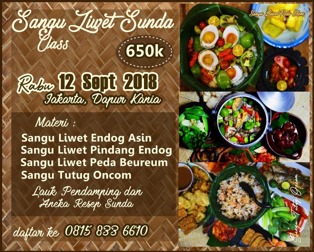Sangu Liwet Sunda Class, Jakarta2