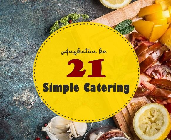Simple Catering angkatanke-21
