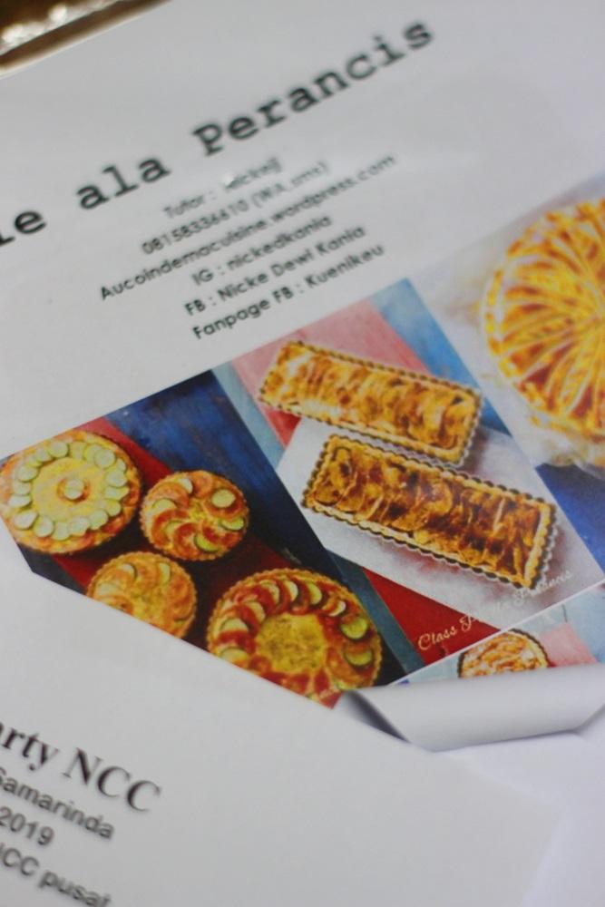 Class Pie Perancis with ALMOND Baking ClassBalikpapan