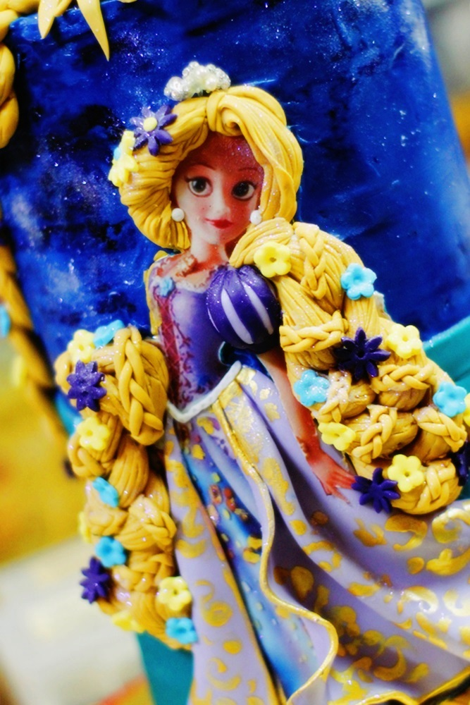 Rapunzel Edible ImageCake